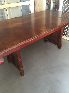 Old dining table / work table | Dining Tables | Gumtree Australia Brisbane South East - Morningside | 1100756969