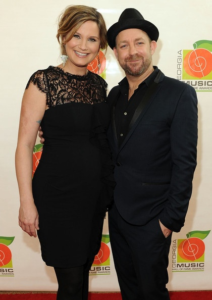 Another snapshot of Jennifer & Kristian walking the Red Carpet before the 34th Annual Georgia Music Hall of Fame Awards Concert and Show on October 14, 2012.