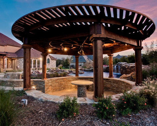 Cool Round Gazebo Outdoor Decor Outdoor Pergola