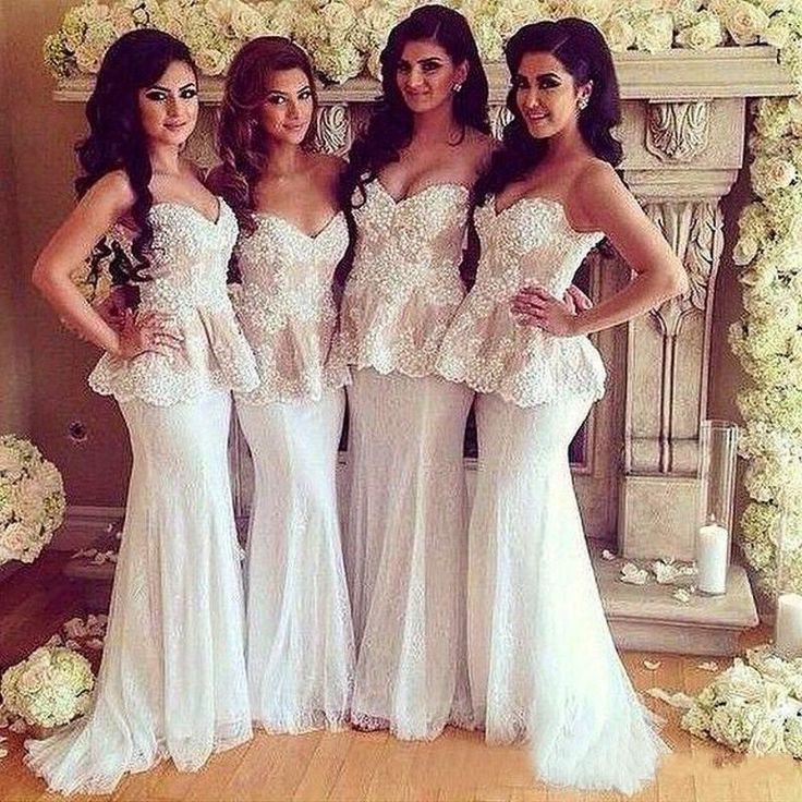2016 Newest Elegant Bridesmaid Dresses 2015 Sweetheart Lace Topped Two Pieces In One Mermaid Prom Evening Gowns Custom Made Evening Dresses Casual Bridesmaid Dresses Cheap Bridal Gowns From Dress_home, $86.67  Dhgate.Com
