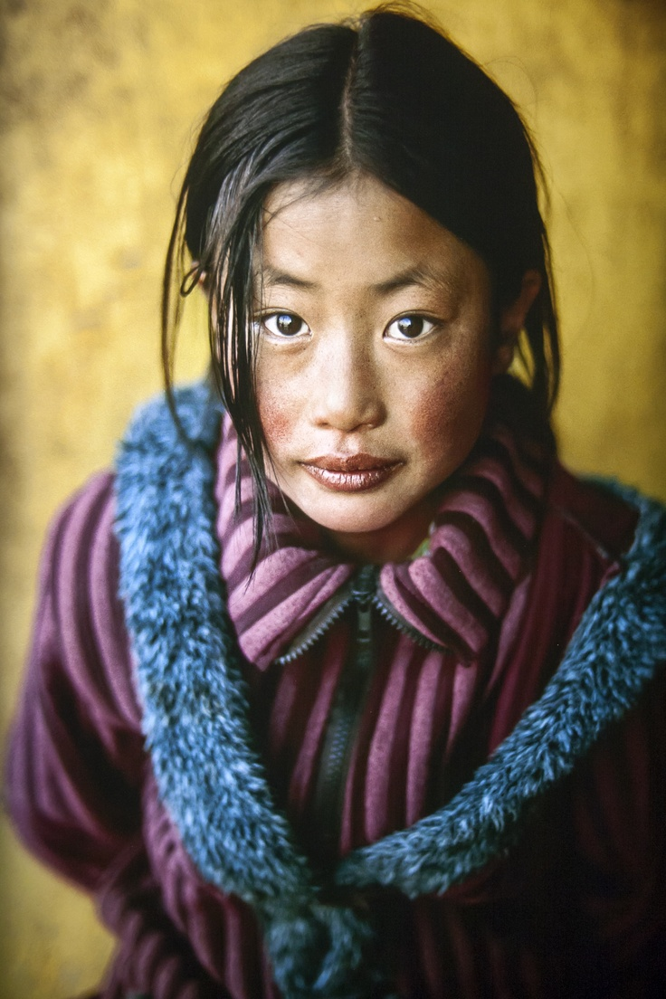 Tibetan girl (by Steve Mc Curry) * 1500 free paper dolls for girls at Arielle Gabriels International Paper Doll Society also her new book explores her life as a mystic suffering financial disaster in Hong Kong The Goddess of Mercy & The Dept of Miracles a unique memoir*