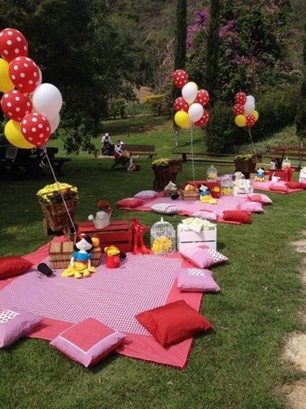 Fiesta infantil al aire libre