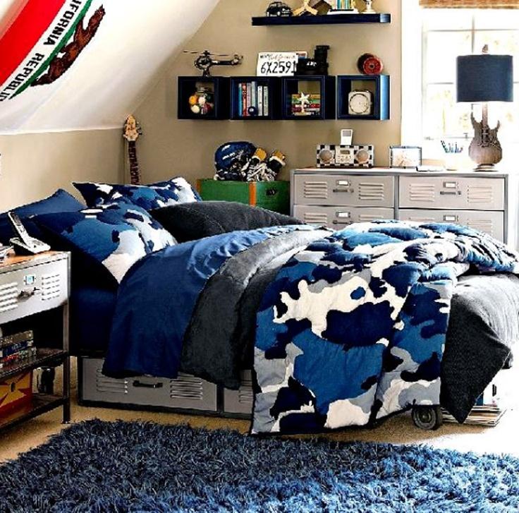 Teenage Boy Bedroom Design