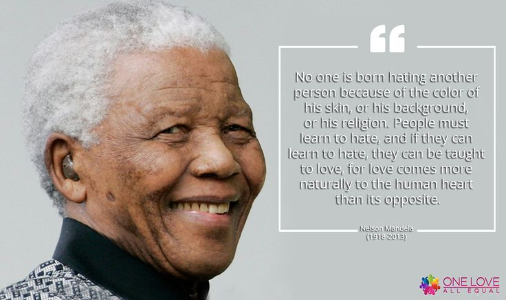 Nelson Mandela - #LGBTQ Inspirational Quotes #OLAEQuotes via @oneloveallequal