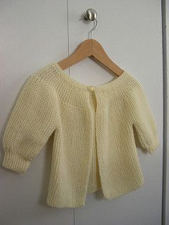 From the pattern:short rows baby jacket, through ravelry