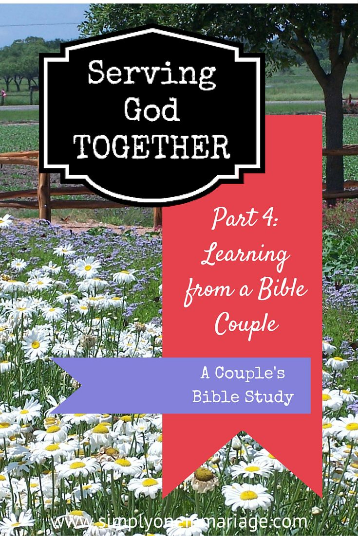 Couple's Bible Study - Simply One