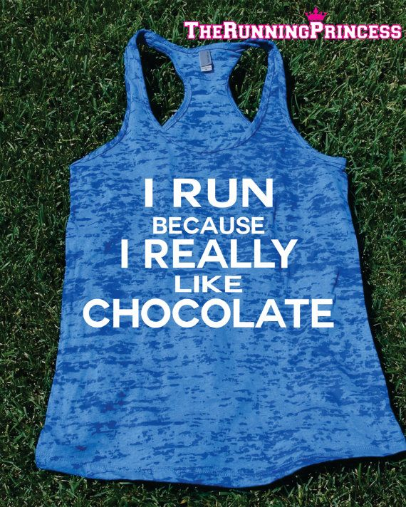 I Run Because I Really Like by TheRunningPrincess on Etsy, $19.99