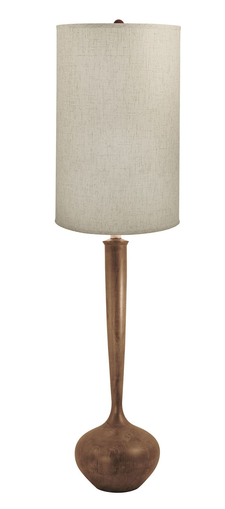 "Mabel Wooden Tulip LED 64"" Floor Lamp"