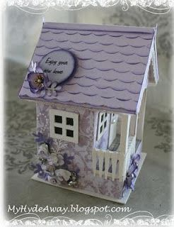 My Craft and Garden Tales: 3D paper models. Voir le site original