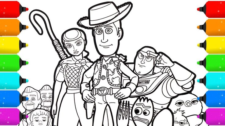 13+ Printable toy story 4 coloring pages information