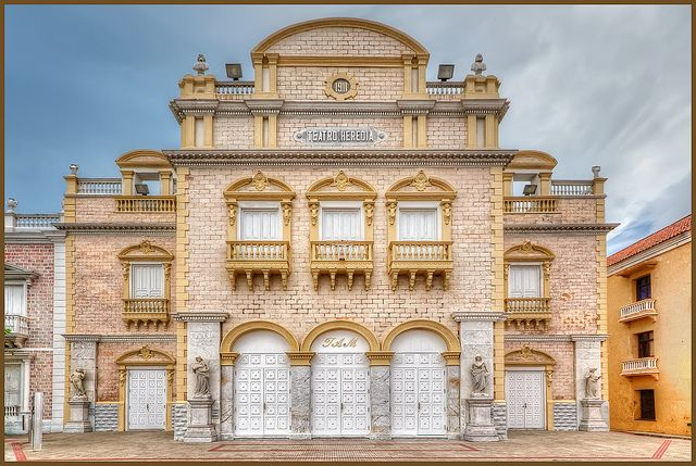 Teatro Heredia, Cartagena, Colombia | Flickr: Intercambio de fotos