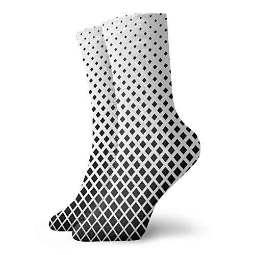 gthytjhv Abstract Black Soccer Socks Sport High St…