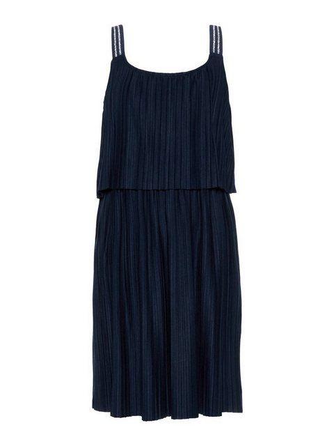 Stufen Plissee Kleid