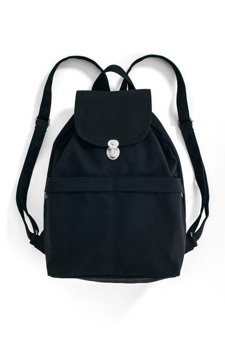 Canvas Backpack: Black