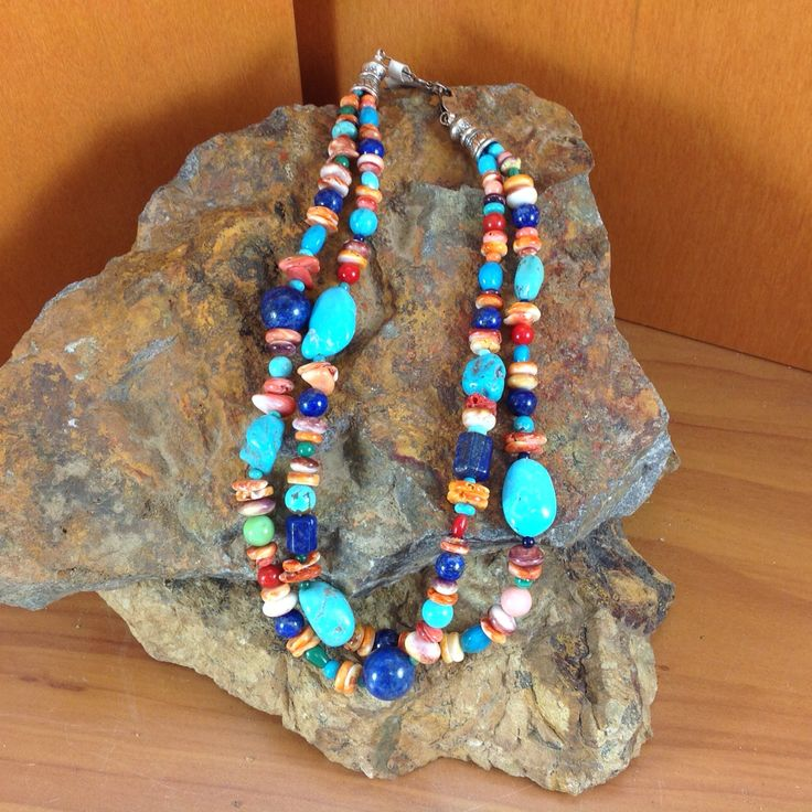 Traditional Double Strand Necklace