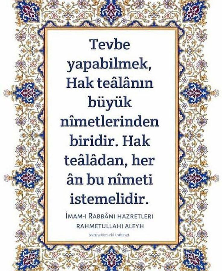 Tevbe... #tasavvuf