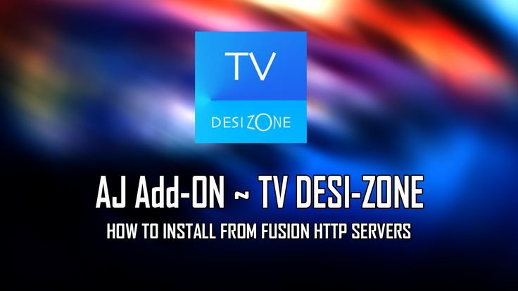TV Desi-Zone New Look For XBMC From Fusion Servers
