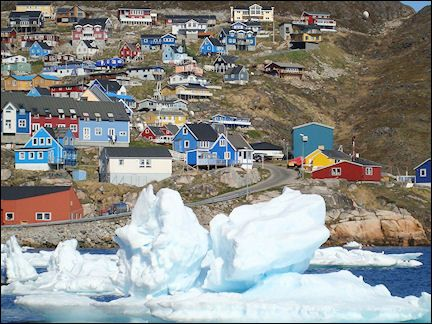 Qaqortoq is the largest town in the south of Greenland