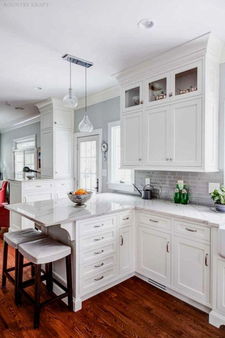 Best Kitchen Cabinet Diy Ideas Small White Kitchens Kitchen Design Kitchen Decor