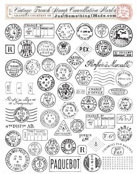 Free French Postal Graphics