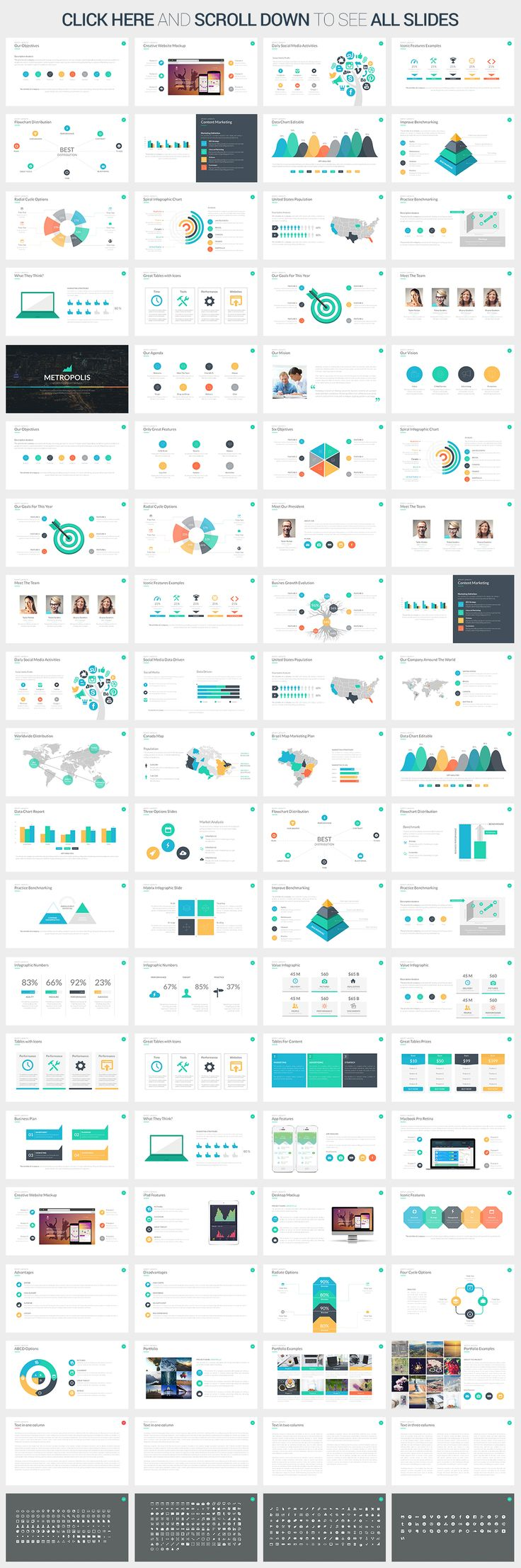 42 best best powerpoint templates images on pinterest keynote metropolis powerpoint template by slidepro on creative market toneelgroepblik Image collections