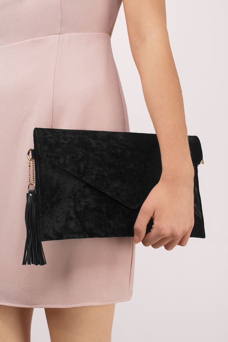 """Search """"So Smooth Black Velvet Envelope Clutch"""" on Tobi.com! Oversized carry all bag handbag shoulder long #ShopTobi #fashion cute sweet timeless classy cheap affordable save money for women girls teens dresses wedding rehearsal bride bridal stylish fashionable elegant modest maxi midi mini long sexy gorgeous shop buy special occasion dance prom homecoming dinner party date accessories bags outfit fancy dressy formal"""