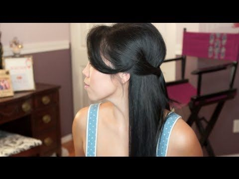 Easy & Cute Half-do hair tutorial inspired by Pretty Little Liars - itsJudyTime