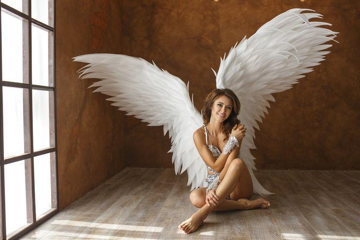 Девушки колготках фотосет девушек в образе ангела зрелую