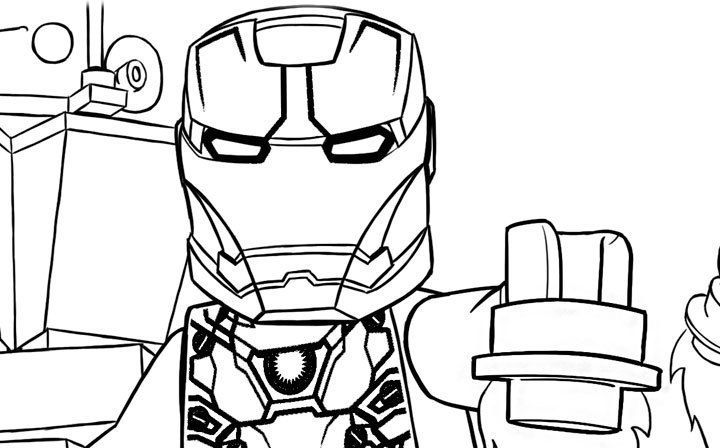 Lego Marvel Colorear Marvel Coloring Avengers Coloring Pages Avengers Coloring