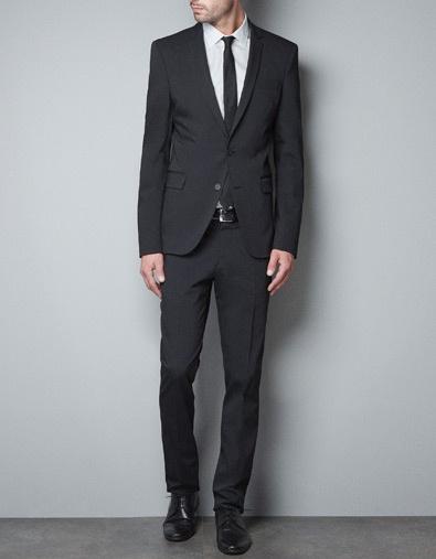TECHNICAL BLAZER - Suits - Man - ZARA