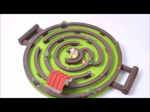 Brinquedo de madeira - Labirinto Floresta