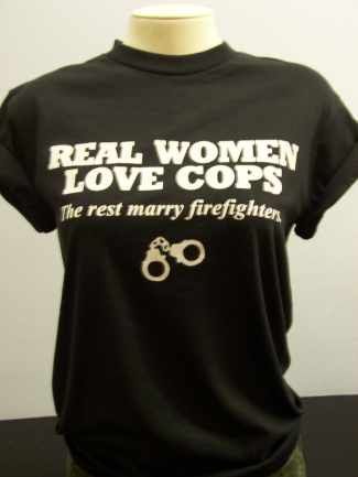 not an ecard.. but still funny! real women marry cops