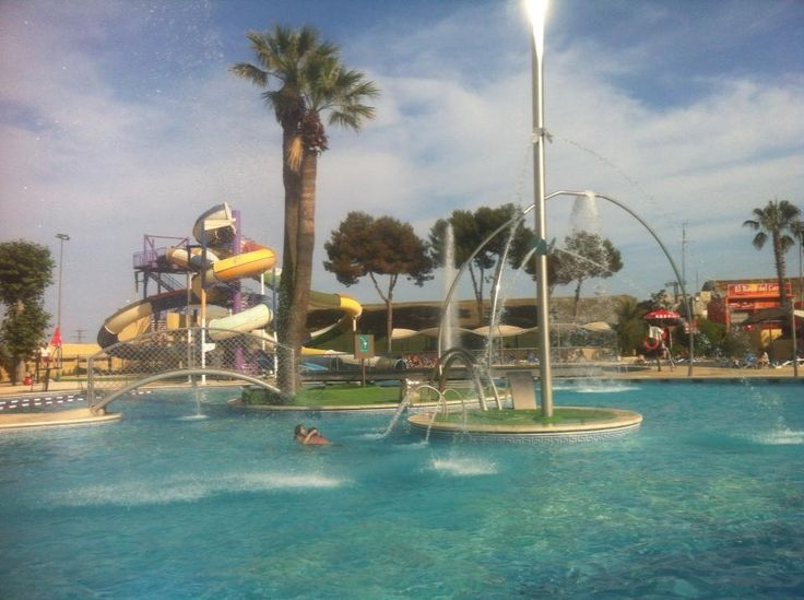 Illa Fantasia, Barcelona. this is a water park just outside of the city with all kinds of slides and pools to play in. Getting here from the city center takes about half an hour.