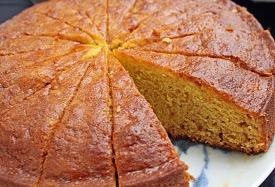 Orange scented olive oil cake | Portuguese food and recipes ...