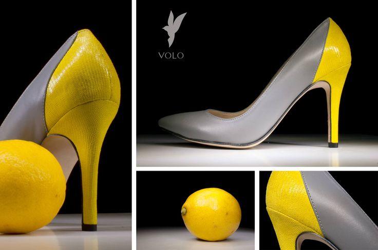 Soczysta, świeża i wiosenna. Inspirowana kolorem owoców cytrusowych. Buty VOLO Stiletto