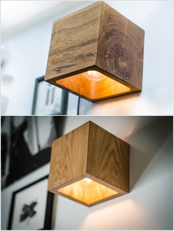 10 Creative And Unique Diy Wall Lamps Wandlampen Wanddekor