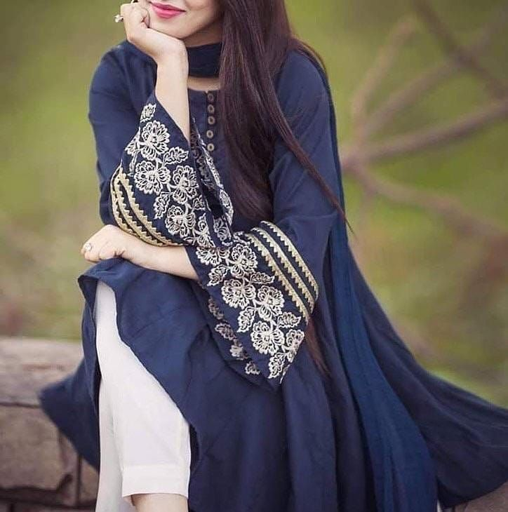Artical Name Lollypop Tussel Embroidery Measurement Chest 20 Length 35 Fabric Cotton Embroidery Kur In 2020 Pakistani Dresses Casual Fashion Embroidery Designs Fashion