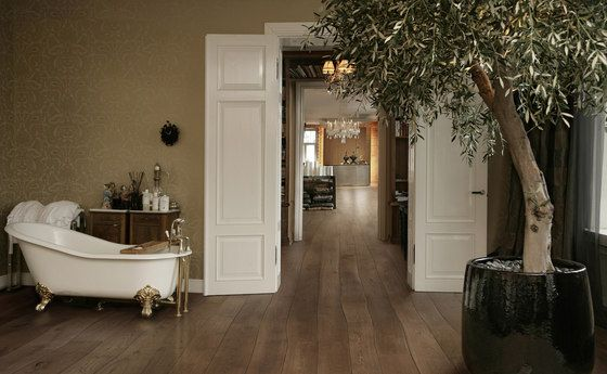Wood flooring | Natural Oak without sapwood stained oil parquet | ... Check it out on Architonic