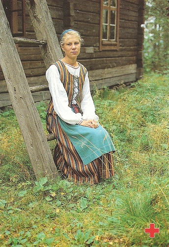 Traditional costumes Finland 3 by tucano3, via Flickr
