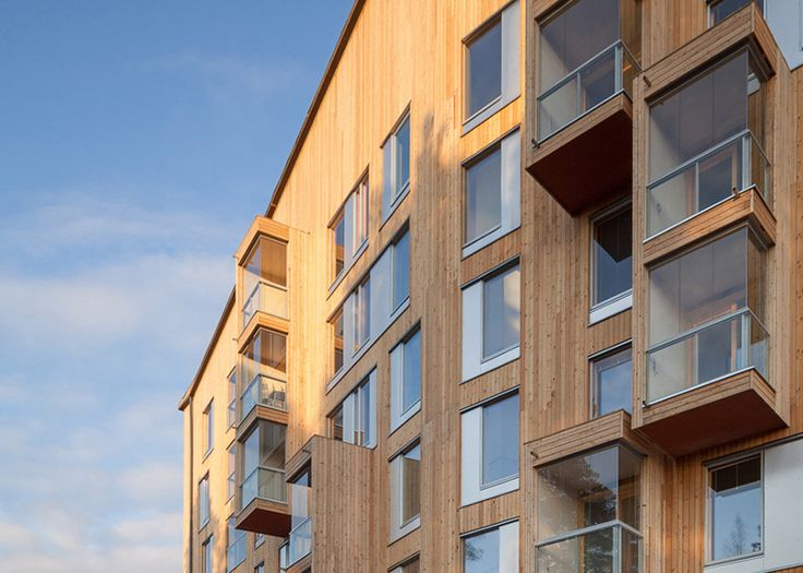 Finland's tallest wooden apartment block has won the 2015 Finlandia Prize for Architecture.