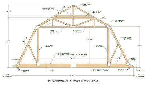 Gambrel Roof Truss Home Design Ideas