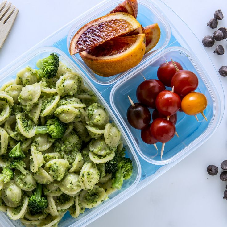 This pesto pasta recipe gets heft (and a side of veggies) from the addition of broccoli to the purée. They won't know it's there unless you tell them...wink wink.
