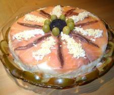 Timbal de salmón con salsa holandesa #thermomix  www.robot-cocina.com