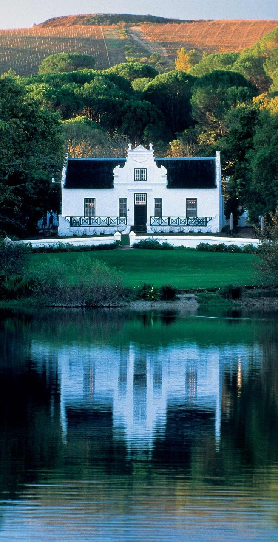 Zevenwacht Wine Estate, South Africa Cape-Dutch style- Stellenbosch