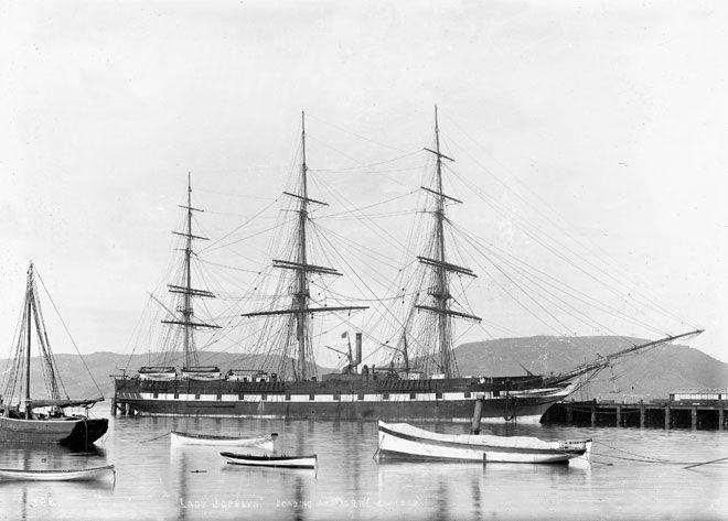 Immigrant sailing ship