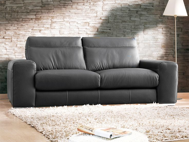 Sofá moderno de 3 y 2 plazas modelo Toscana fabricado por Losbu en Sofassinfin.es