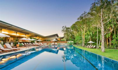 The Byron at Byron Bay. Hotel with pool and spa treatments