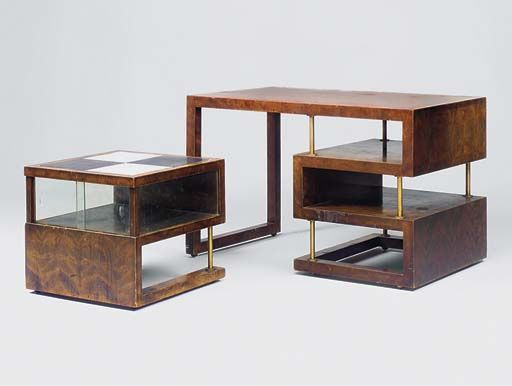 Writing Desk and Occasional Table.