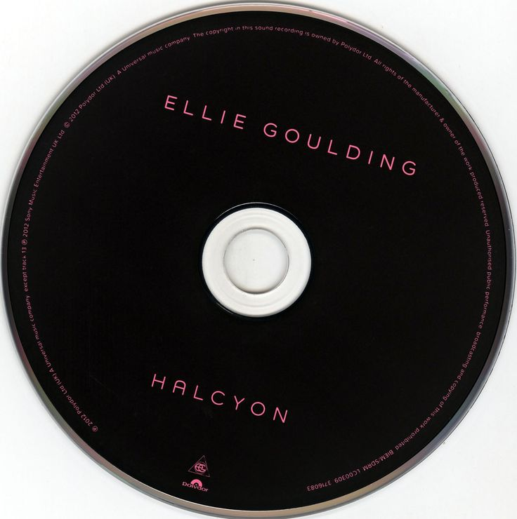 Caratula Cd de Ellie Goulding - Halcyon