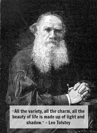 Leo Tolstoy On Contrast